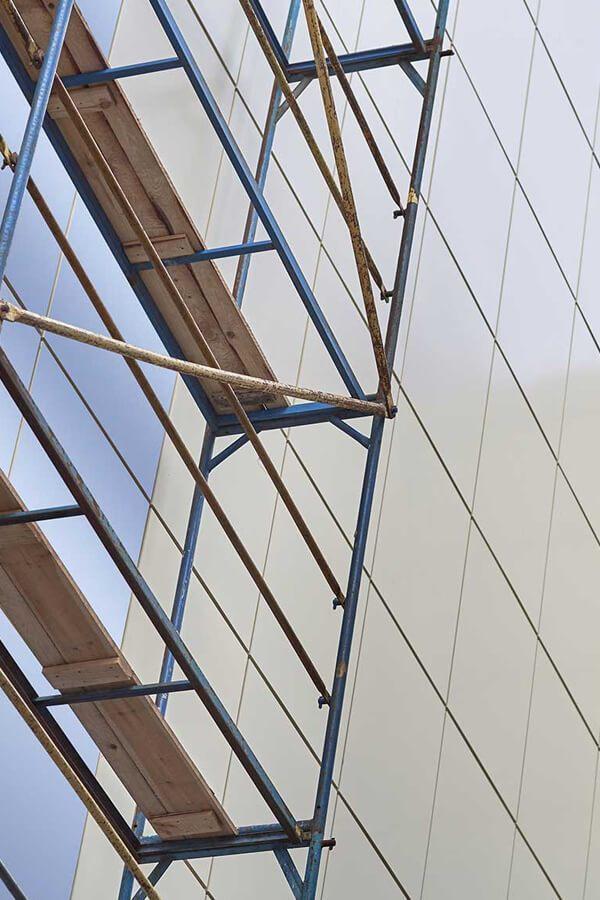 ACP Aluminium panels installation
